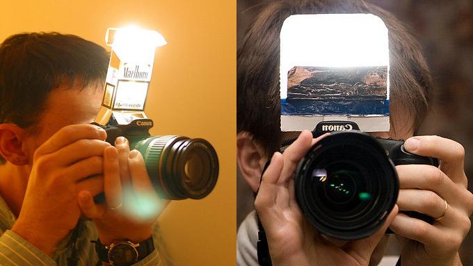 機頂閃 也有春天,香菸盒、錫箔紙變身成 內建閃光燈 擴散板 | DIGIPHOTO-用鏡頭享受生命