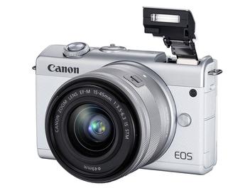Canon 輕巧自拍迷你單眼 EOS M200登台限量開賣,限量優惠價 NT$18,900