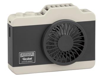 夏天外拍吹涼必備,ROLLEI USB 頸掛式電風扇發售!!