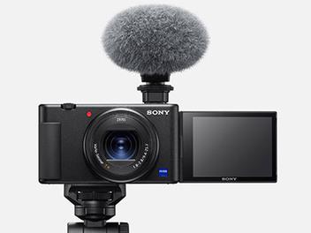 為Vlog短片創作而生,Sony Digital Camera ZV-1 正式發佈!!