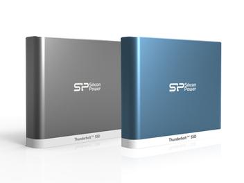 SP廣穎電通Thunderbolt™快閃隨身固態硬碟