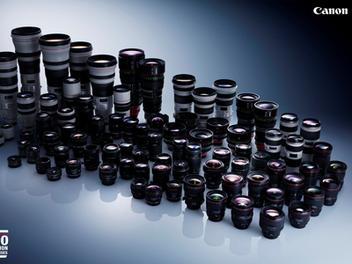 Canon世界第一的成就,EF可交換鏡頭生產量突破1億支