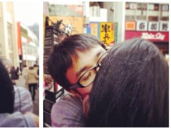 單身男 別哭 第四彈:一個人也能來個火熱的 街頭 擁吻 !