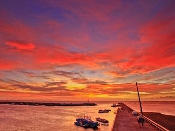 新竹 攝影 私房 景點 分享:小漁港,海山漁港