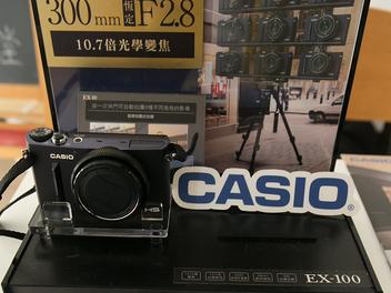 Casio EX-10 / 100城市巡迴講堂:06/14 台中場午茶甜點限定