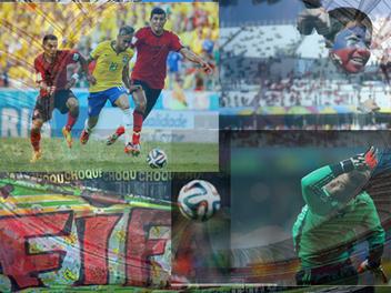 球場內外的美麗與哀愁,2014 FIFA 世界盃 足球賽 精彩畫面 回顧整理(新增季軍賽、冠軍賽圖片)