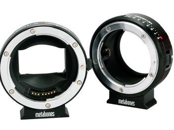 輕鬆享受雙機流的拍攝樂趣, metabones  E-Mount轉接環