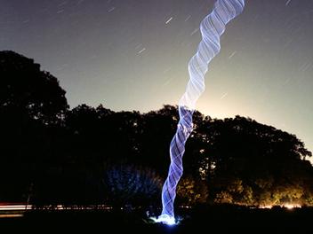 開啟異次元通道? DIY LED 燈圈玩出不同效果的 光繪 攝影