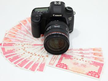Canon讓攝影玩家輕鬆升級全片幅單眼相機,送一萬元郵政禮券及原廠電池及專業相機包
