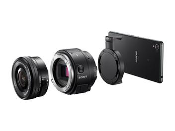 Sony鏡頭式相機QX系列話題上市,秒速連線 拍攝畫質突破手機新極限