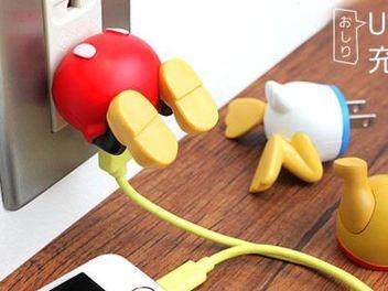 把 米奇 、 維尼 塞進插座!超 萌 迪士尼 角色 造型 USB 充電器