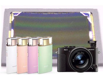 Sony 新型 曲面 感光元件 已應用在 自拍 相機 KW1 中, RX2 也將採用
