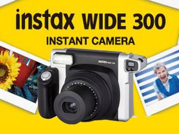 Fujifilm 拍立得 相機 instax WIDE 300 新發表, 復古 變身小改版
