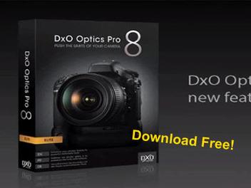 後製 軟體 DxO Optics Pro 8 限時 免費 下載 ! 影像 編修 又一選擇
