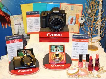 台北資訊月Canon年終慶 相機、印表機促銷有夠力