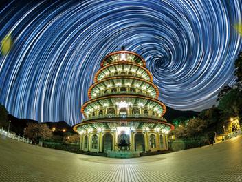 創意星軌這樣玩 螺旋X 爆炸顛覆視覺的星空想像