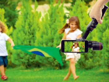 手機動態錄影電子穩定器 SyncWENPODSP1+LanParte HHG-01