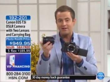 勸敗的最高境界?看美國電視購物台如何推銷Canon 600D