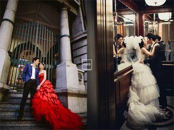 別讓新人不開心! 9個海外婚紗必拍景點