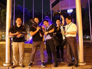 成就世界之光!HUAWEI P8 光影塗鴉攝影交流會直擊花絮!