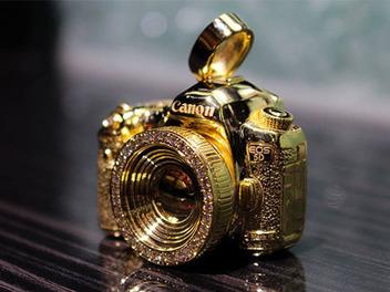 14K黃金打造的Canon EOS 5D Mark III?!精緻得讓人好想要一台!