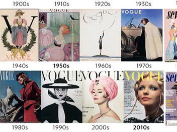 從過去100年間知名雜誌封面變化看人像攝影,你看出什麼端倪了嗎?