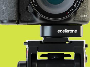 傑克!這是不是太神奇了!Edelkrone推出萬能通用快裝板QuickRelease One,可讓你多系統快速拆裝相機喔!