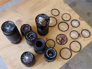 鏡頭保護鏡的殘酷考驗!究竟UV鏡保護鏡頭能承受多嚴重的破壞呢?