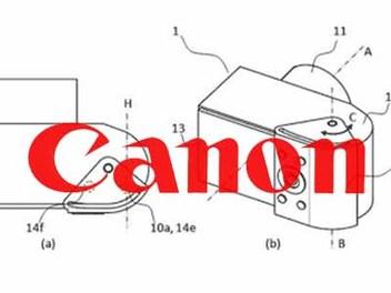 相機螢幕可擴展!?Canon註冊可移動式握把新專利