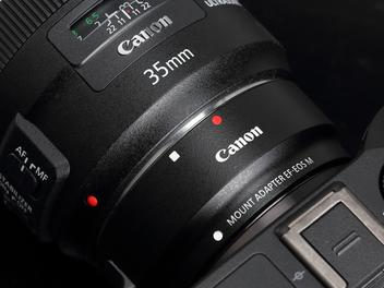 轉接環讓Canon EOS M3視角無限延伸..........