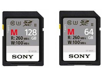 為高速攝影鋪路 Sony發佈新款XQD和SD記憶卡