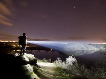 鋼鐵人遠光燈,夜晚露營好幫手!