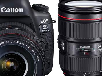 唯傳奇超越傳奇 Canon發佈全幅數位單眼相機EOS 5D Mark IV