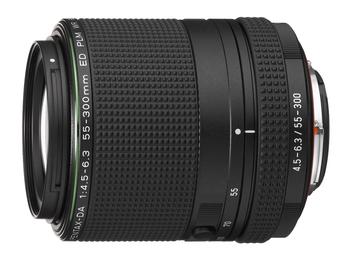 PENTAX最強中望遠變焦鏡頭正式襲台 - PENTAX HD PENTAX-DA 55- 300mm F4.5-6.3 ED PLM WR RE