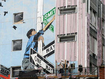 瑪莎•庫伯:50年間遍佈全球捕捉街頭藝術的魔力