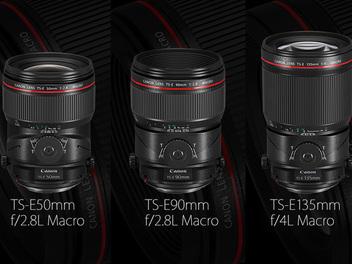 Canon正式發佈三款新移軸鏡頭與新一代人像鏡85mm F1.4L IS USM