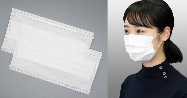 日本夏普不只將液晶面板廠改做口罩還將對外開賣,一片口罩要價 16.6 元台幣