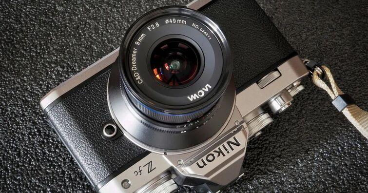Nikon Z fc適用,LAOWA CF 9mm F2.8 C&D-Dreamer超廣角鏡頭新推出Nikon Z卡口版本
