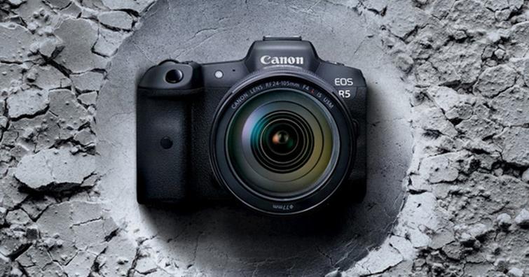 Canon全幅無反新旗艦 EOS R5台灣7/30開賣,單機身建議售價NT$ 119,000