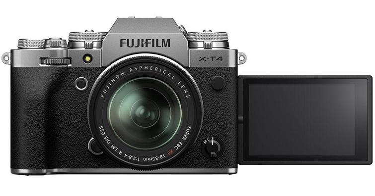 富士發布GFX100和X-T4最新韌體更新!讓影錄更順暢