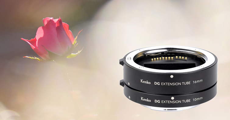 Kenko EXTENSION TUBE SET DG FOR Canon RF近攝套組發售,建議售價約NT$ 6,500