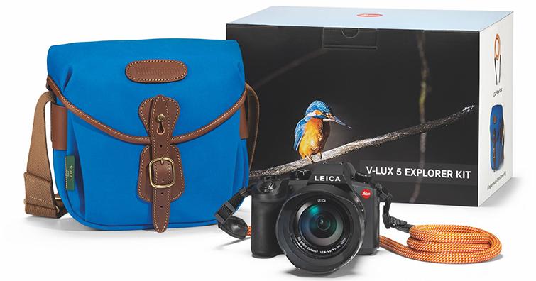 LEICA發布適用於旅行、運動和野外攝影的V-Lux 5 探險家套裝組,建議售價為NTD 45,800