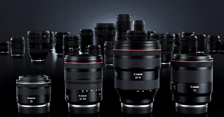 【乳摸】傳聞Canon將於2021年一口氣發佈14款RF接口鏡頭