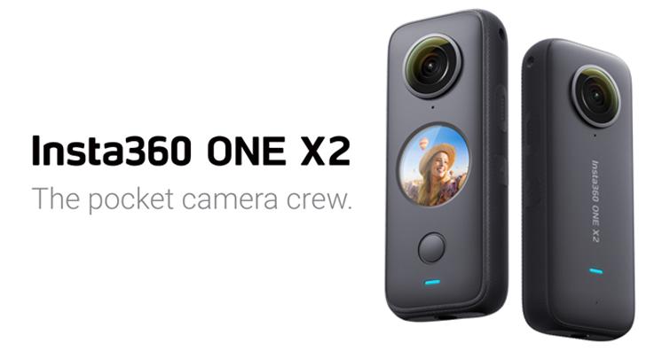 你的隨身相機及攝影團隊:Insta360 ONE X2為用戶拍攝和剪輯防震的5.7K全景影片
