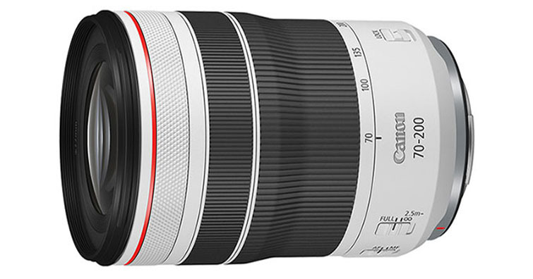 Canon發佈望遠變焦鏡頭RF 70-200mm F4 L IS USM ,建議售價約NT$ 47,000