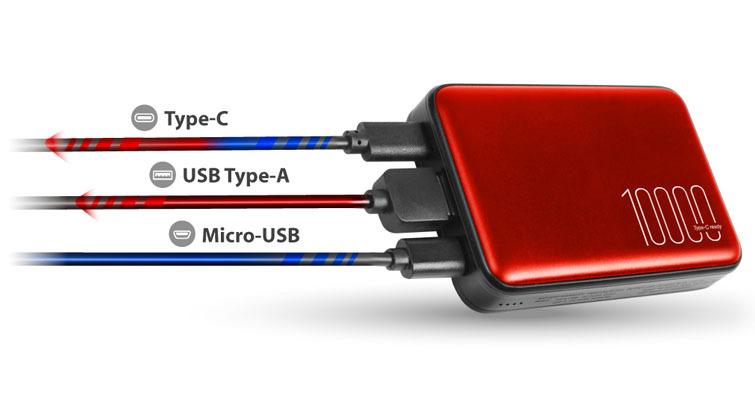 SP廣穎電通再推快充款行動電源 迷你隨身攜-QP70,支援PD與QC 3.0快充