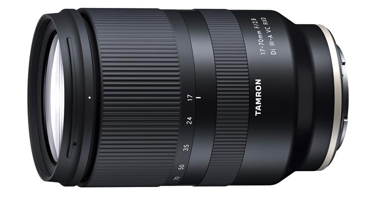 TAMRON 17-70mm F/2.8 DiIII-A VC RXD (B070)發佈,預計明年一月中旬上市