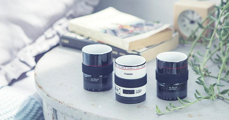 Canon Official Fan Goods推出新款鏡頭杯,你愛哪一個?