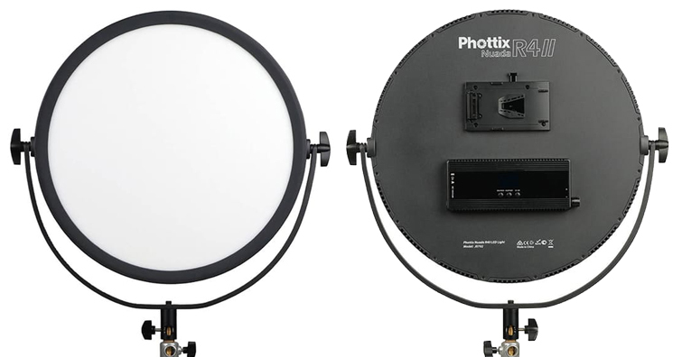 Phottix Nuada R4 II LED Light圓形LED柔光燈即將發售,建議售價約NT$ 18,000
