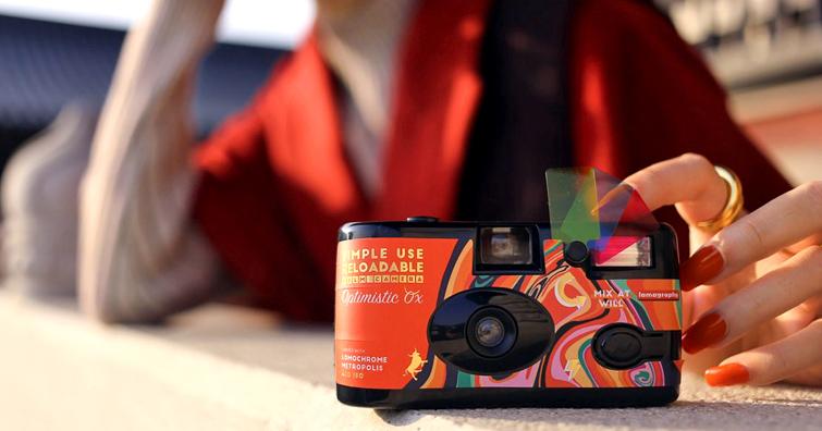Simple Use 2021 新年特別版即可拍相機:預載底片、小巧外型、功能齊備與你一起迎接牛年的冒險之旅!